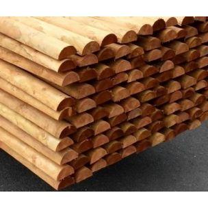 Dřevěný kůl 6/100 cm půlený impregnovaný
