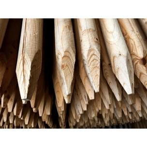 Dřevěný kůl 8/200 cm impregnovaný