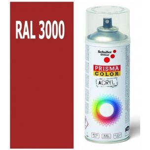 Sprej PRISMA RAL3000 ohnivá červená lesk